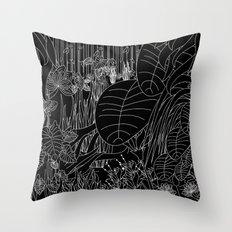 Jungle Pop Throw Pillow