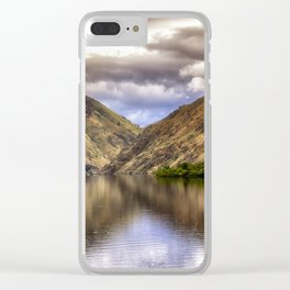 Snake River in Hells Canyon Clear iPhone Case