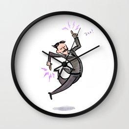 Nikola Tesla! Wall Clock