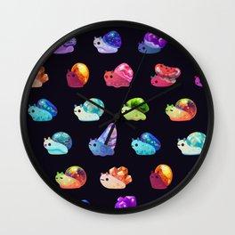 Jewel Snail Wall Clock