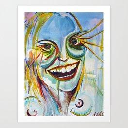 Narcaissitic Drama Queen Art Print