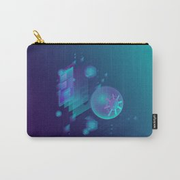 ABSTRACT SCIENCE TECHNOLOGY DESIGN Carry-All Pouch