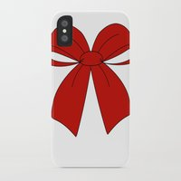 bow iPhone & iPod Cases featuring bow by  MuDi