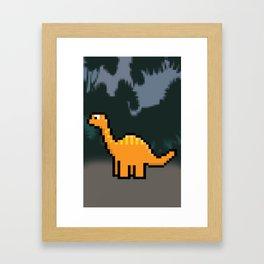 Little Dinosaur Framed Art Print