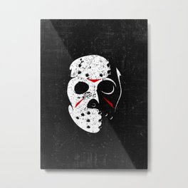 jason voorhees - Friday the 13th Metal Print