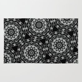 Geometric Mandala Rug