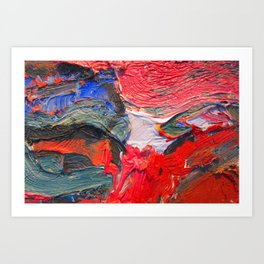 Up Close & Personal with Portrait of a Shoe #2 by Joan Brown Art Print