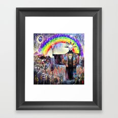 At The Crossroads Framed Art Print