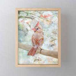 Under The Northern Light Framed Mini Art Print
