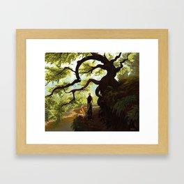 Hinterlands Framed Art Print