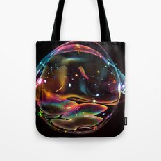 Galactic Bubble Tote Bag
