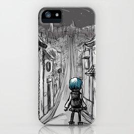 Uphill road iPhone Case