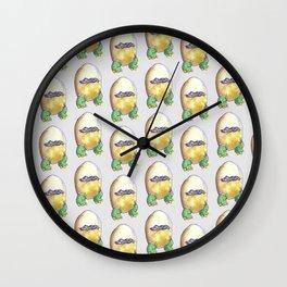 dragon egg Wall Clock