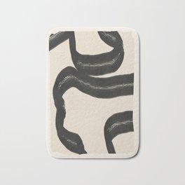 Minimal Abstract Art 15 Bath Mat