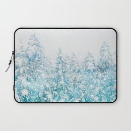 Snowy Pines Laptop Sleeve
