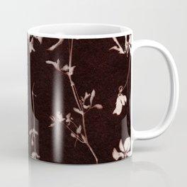 Botanical Pattern 11 brown Coffee Mug