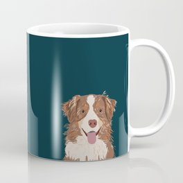 Hollis - Australian Shepherd gifts for dog owners pet lovers dog people gifts for dog person Coffee Mug