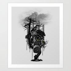 DIRTY WEATHER Art Print
