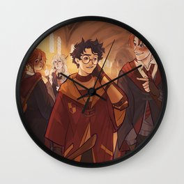Ginny's crush Wall Clock