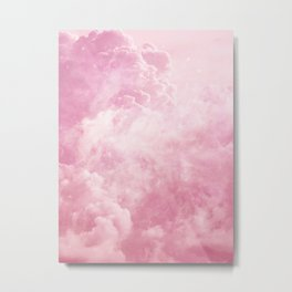 Cotton Candy Sky Metal Print