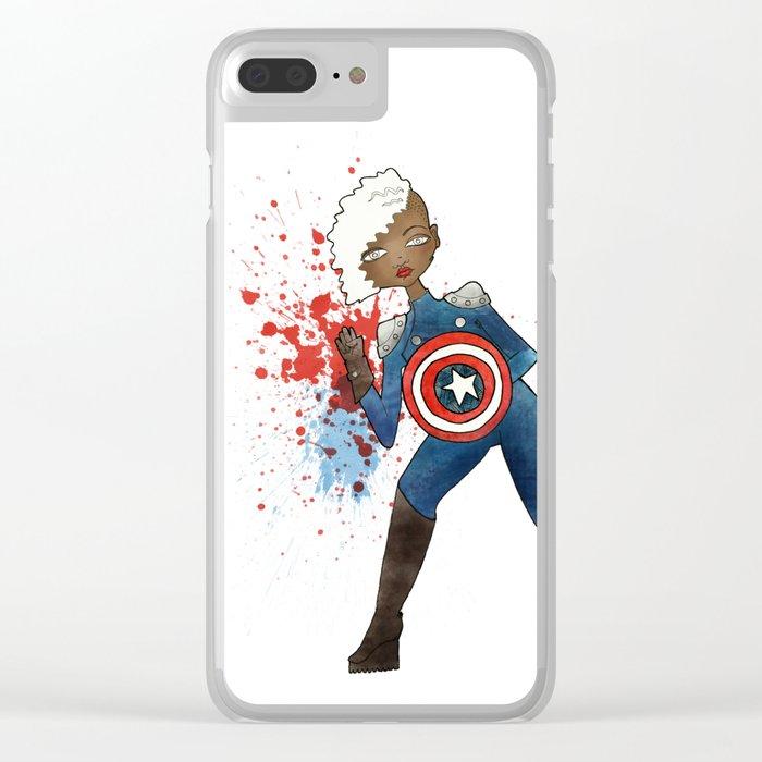 Captain Clear iPhone Case