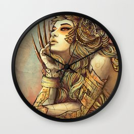 Zodiac Sign: Leo Wall Clock