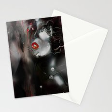 Red  Illusion Stationery Cards