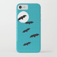 bats iPhone & iPod Cases featuring Bats by Jude's