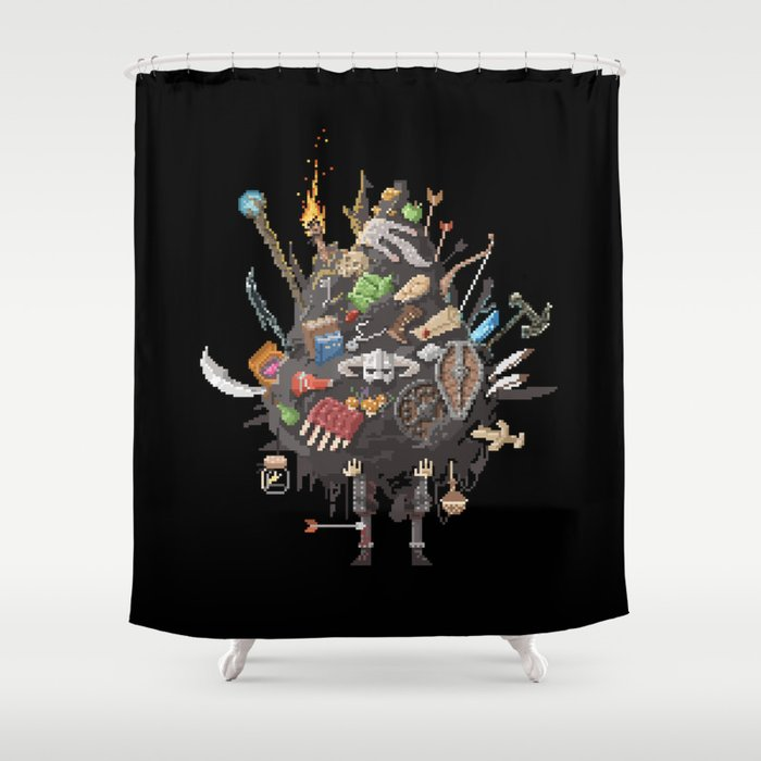 Let me guess, someone stole your sweetroll Shower Curtain