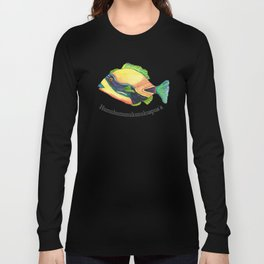 H is for Humuhumunukunukuapua'a Long Sleeve T-shirt