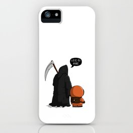 Let's go home iPhone Case