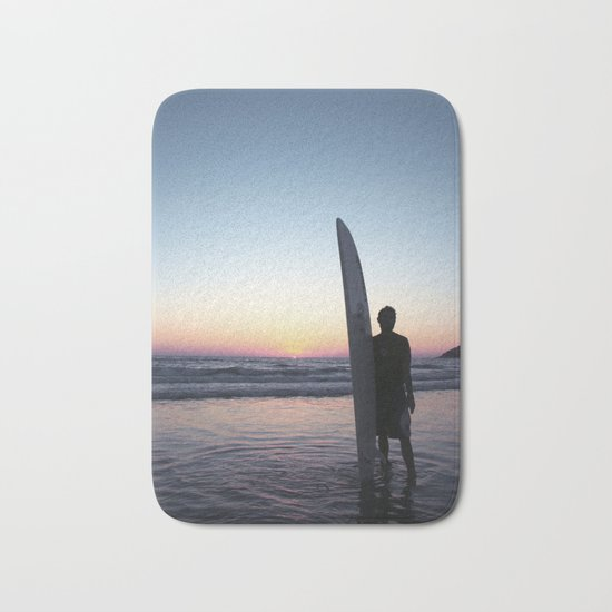 Summer Surfer Bath Mat