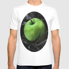 The Poison Apple SMALL Mens Fitted Tee White