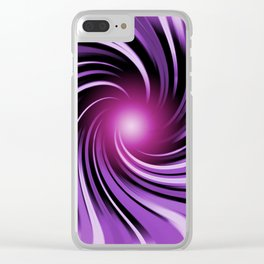 Abstract 143 Clear iPhone Case
