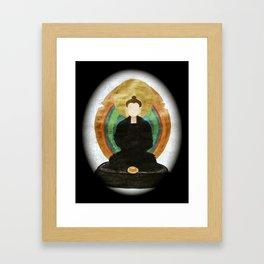 ZAZEN BUDDHA Framed Art Print