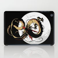 dragon ball iPad Cases featuring Black Dragon by TxzDesign