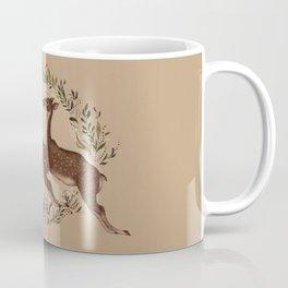 Jumping Deer Coffee Mug