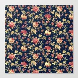 Shabby Floral Print Canvas Print