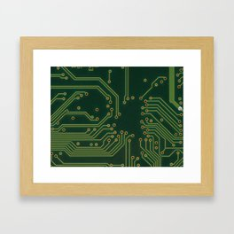 PCP Board Framed Art Print