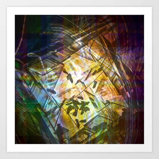 severely heightened objects emancipation Art Print