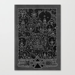 koznoz jungle Canvas Print