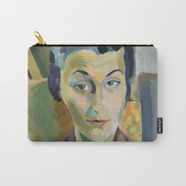 """Robert Delaunay """"Portrait of Maria Lani"""" Carry-All Pouch"""