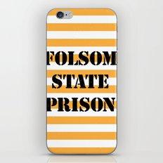 Folsom State Prison iPhone Skin