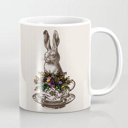 Rabbit in a Teacup Coffee Mug