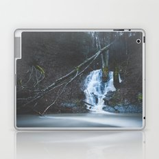 Emerging waterfall after the flood Laptop & iPad Skin