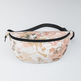 Skin Tones - Liquid Makeup Foundation - on White Fanny Pack