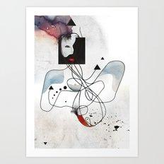 Advanced Indigo   Art Print
