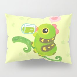 Leaf Milk Pillow Sham