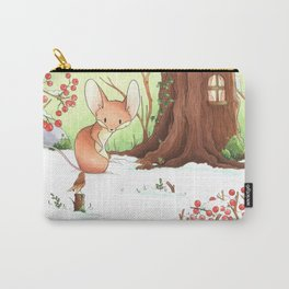 Mouse and bird Carry-All Pouch