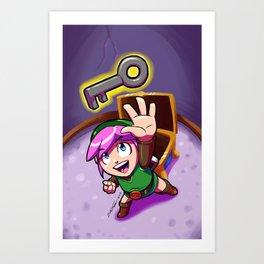Link's Treasure Art Print